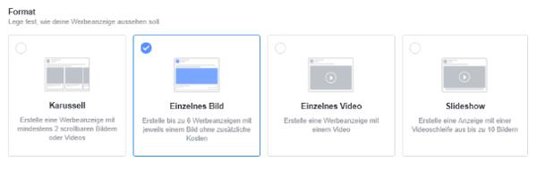 Facebook-Format