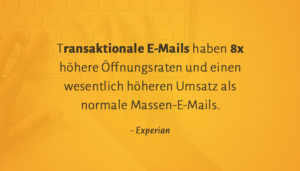 E-Mail-Marketing / Transaktionale E-Mails