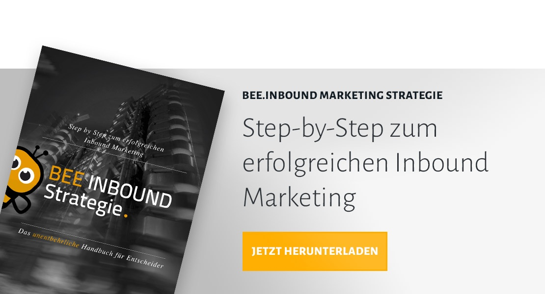 JETZT EBOOK INBOUND MARKETING BESTELLEN